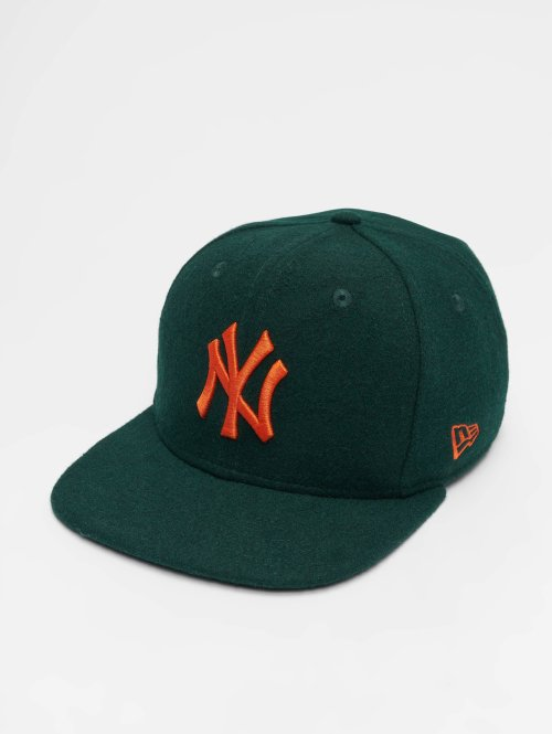 New Era snapback cap MLB Winter Utlty Melton New York Yankees 9 Fifty groen