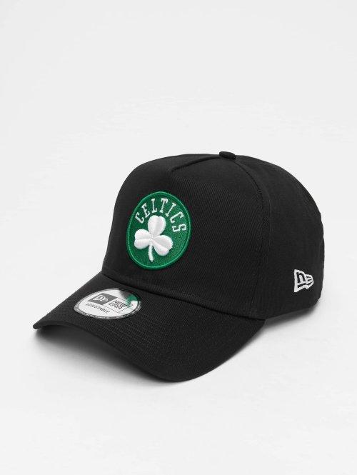 New Era Snapback Cap NBA Team Bosten Celtics 9 Fourty Aframe schwarz