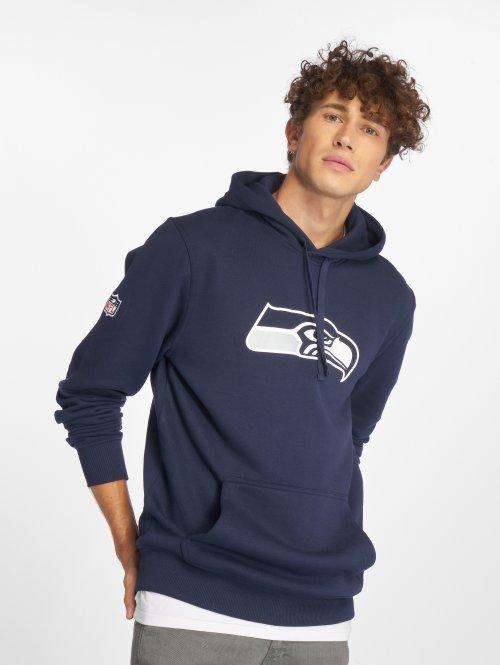 New Era Sweat capuche Team Logo Seattle Seahawks bleu