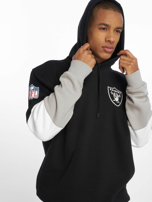 New Era Sweat capuche Nfl Colour Block Oakland Raiders noir