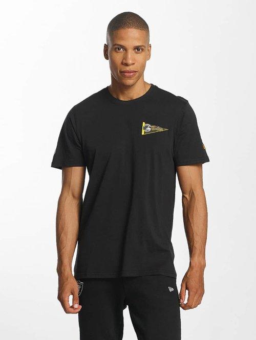 New Era T-Shirt NFL Pennant Pittsburgh Steelers schwarz