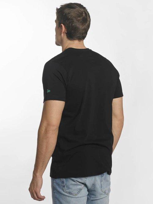 New Era T-Shirt Team Logo Boston Celtics schwarz