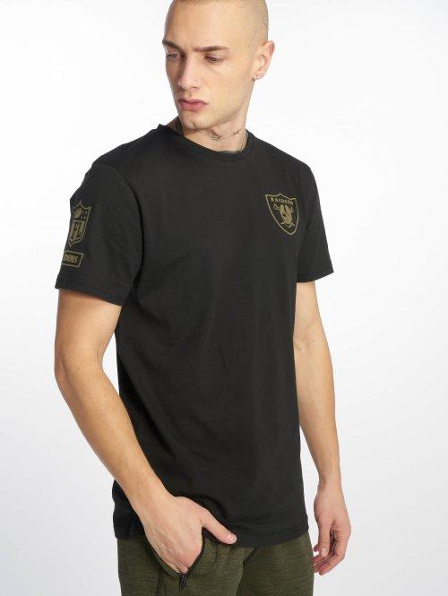 New Era T-Shirt Nfl Camo Collection Oakland Raiders schwarz
