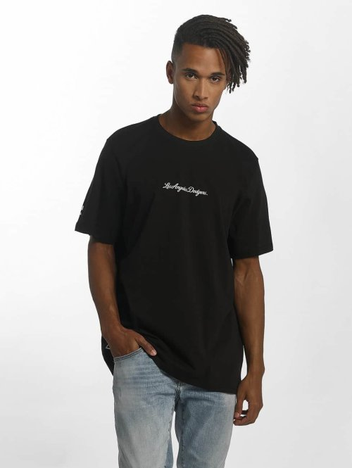 New Era t-shirt MLB Elegance LA Dodgers XL zwart
