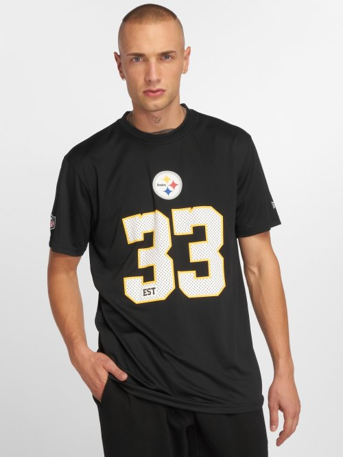 New Era t-shirt NFL Team Supporters Pittsburgh Steelers zwart