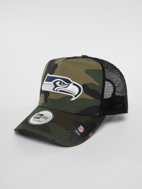 New Era Trucker Cap NFL Camo Colour Seattle Seahawks 9 Fourty camouflage