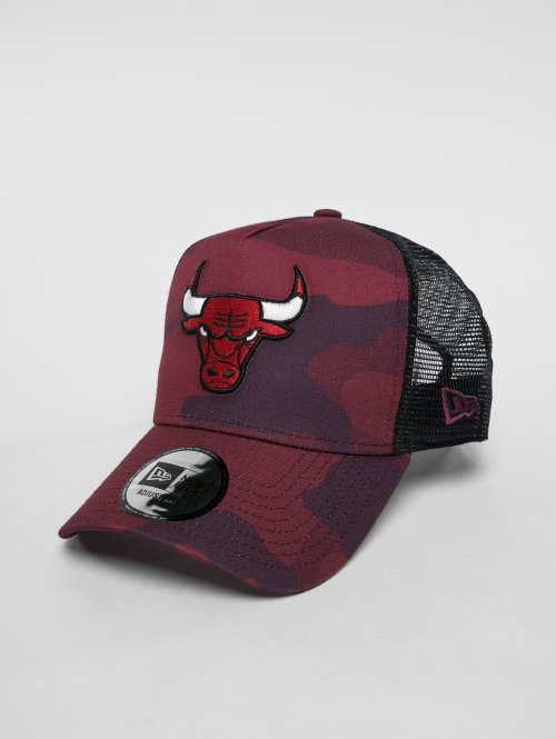 New Era trucker cap NBA Camo Colour Chicago Bulls camouflage