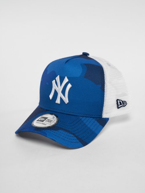 New Era Trucker Cap MLB Camo Colour New York Yankees 9 Fourty weiß