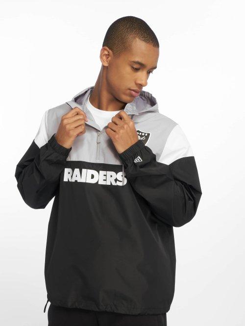 New Era Veste mi-saison légère Nfl Colour Block Oakland Raiders noir