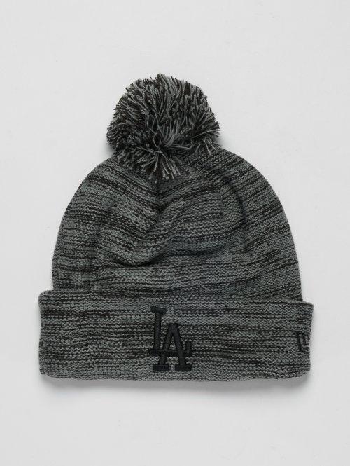 New Era Wintermütze MLB Cuff Los Angeles Dodgers grau
