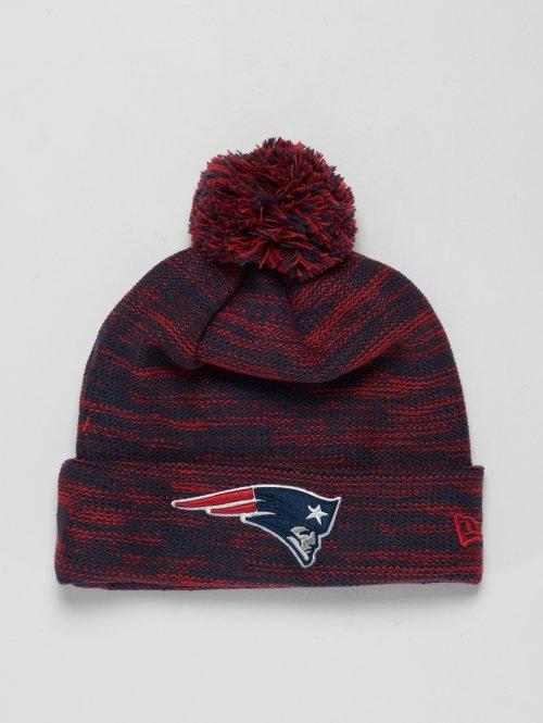 New Era Wintermütze NFL Cuff New England Patriots rot