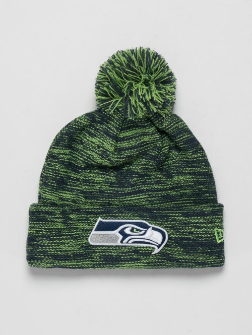 New Era Wintermuts NFL Cuff Seattle Seahawks groen