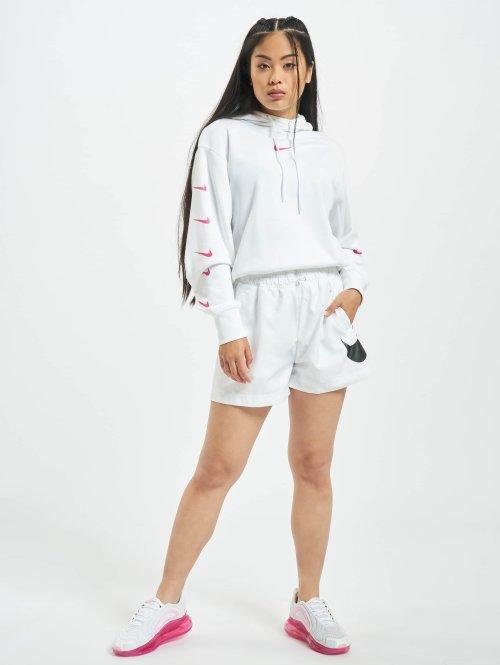 Nike Hoody Swoosh weiß