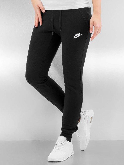 Nike Jogginghose W NSW FLC Tight schwarz