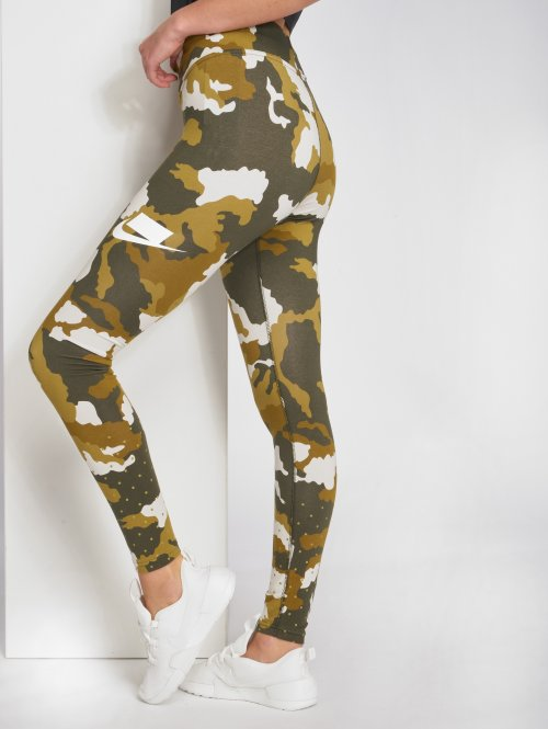 Nike Leggings/Treggings Sportswear camouflage