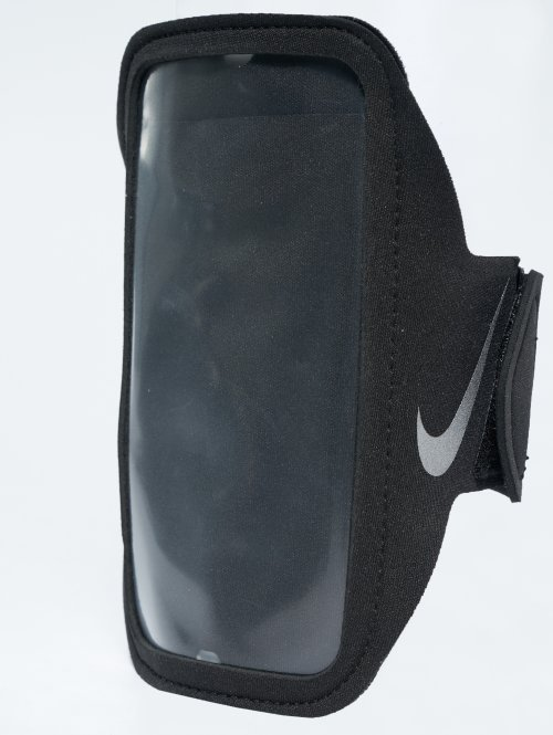 Nike Performance armband Lean zwart