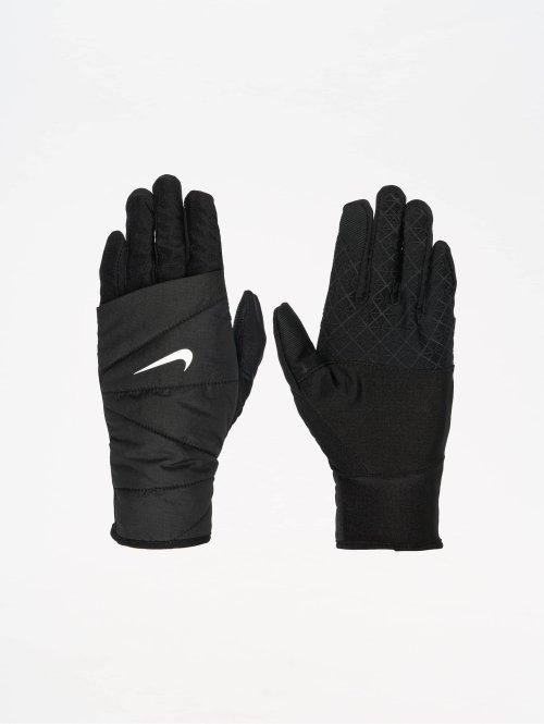 Nike Performance Sporthandschuhe Womens Quilted Run 2.0 schwarz