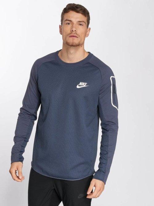 Nike Pitkähihaiset paidat Sportswear AV15 sininen