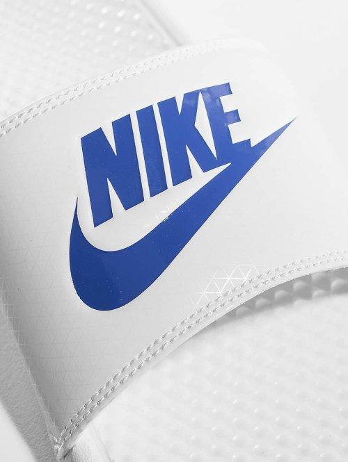 Nike Sandalen Benassi JDI weiß
