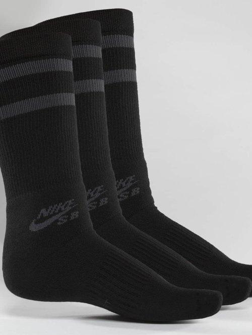 Nike SB Sokken SB Crew Skateboarding 3-Pack zwart