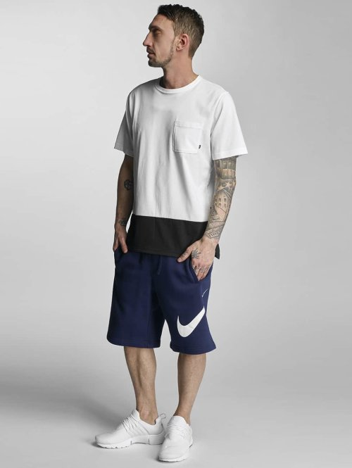 Nike Shorts FLC EXP Club blau