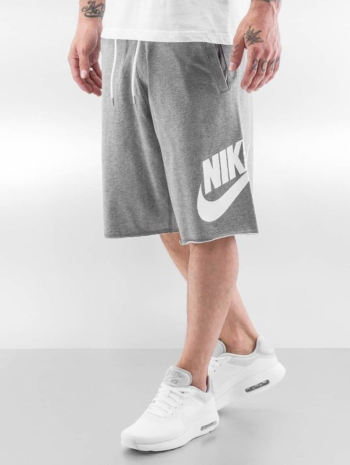 Nike shorts NSW FT GX grijs