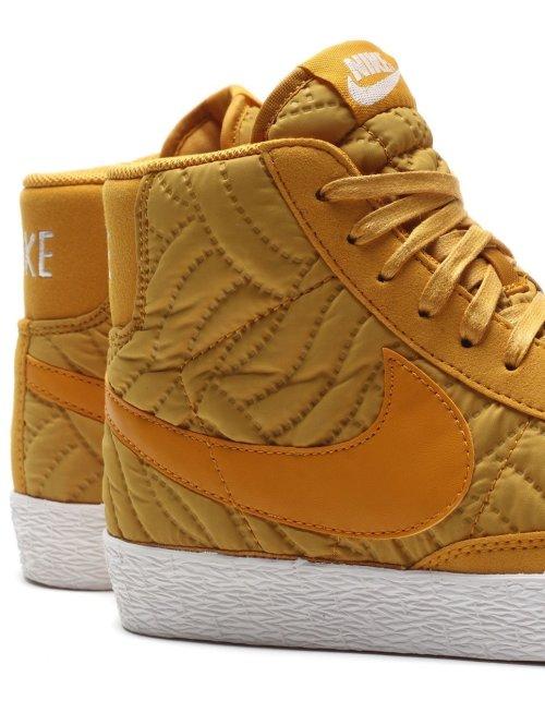 Nike Sneaker Blazer Mid Premium Se gelb