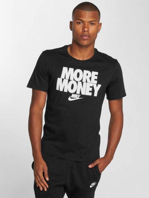 Nike t-shirt Table zwart