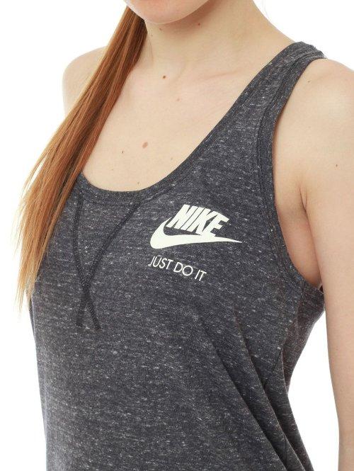Nike Top Gym Vintage grau