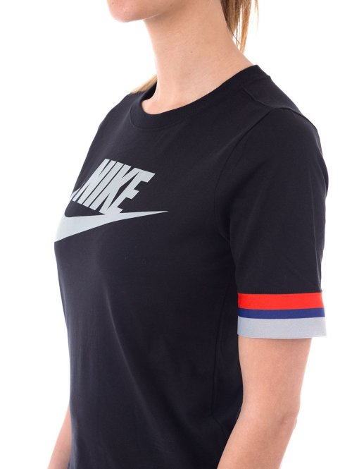 Nike Top Top Ss schwarz