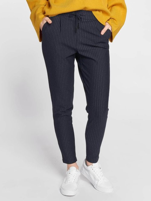 Noisy May Chino nmPower Pinstripe blauw