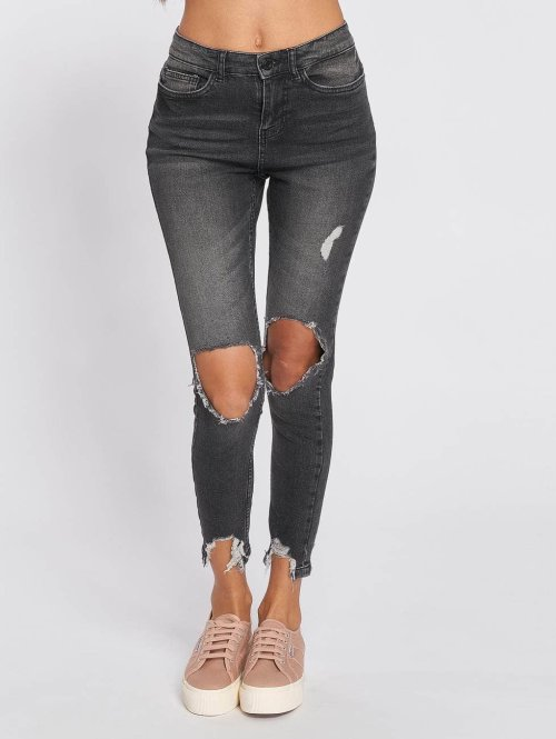 Noisy May High Waisted Jeans nmLexi High zwart