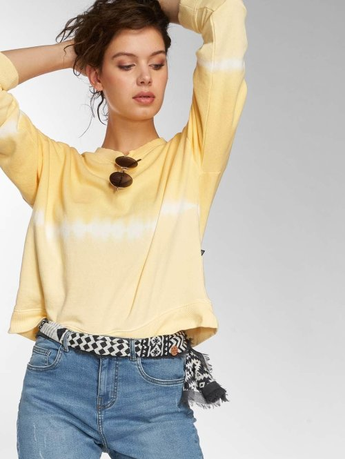 Noisy May Sweat & Pull nmChris Dip Dye jaune