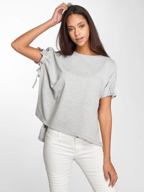 Noisy May t-shirt Sara grijs