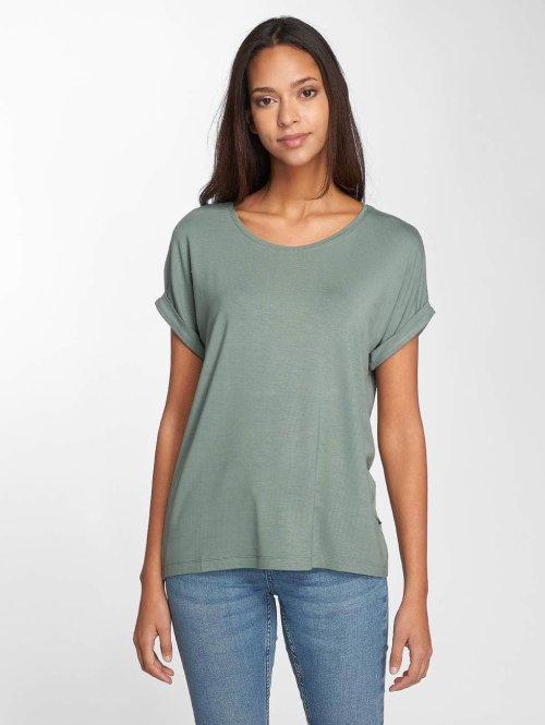 Noisy May T-Shirt nmOyster grün