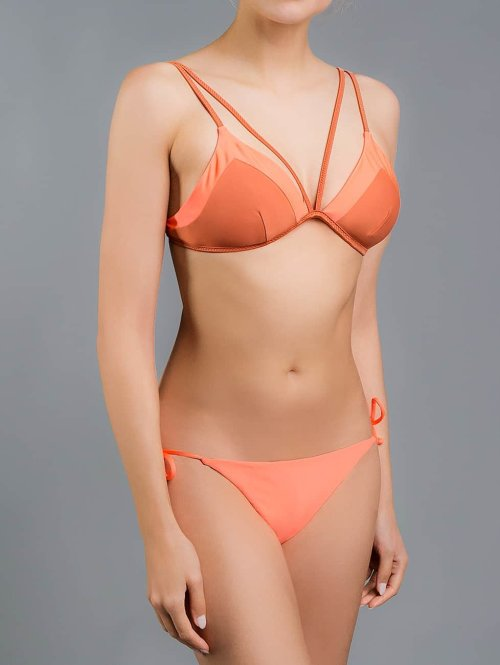 O'NEILL Bikinis Reversible Solid Tieside orange