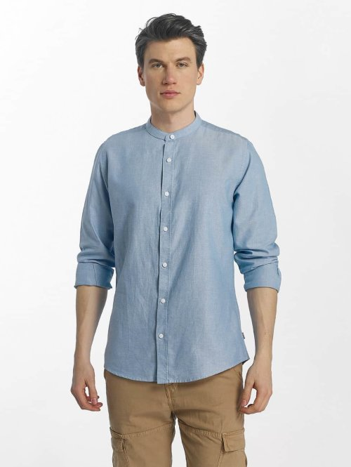 Only & Sons Hemd onsAlvaro Oxford China blau