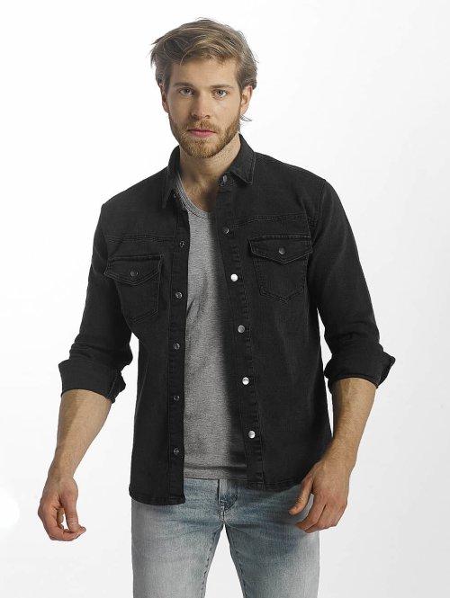 Only & Sons overhemd onsOver zwart