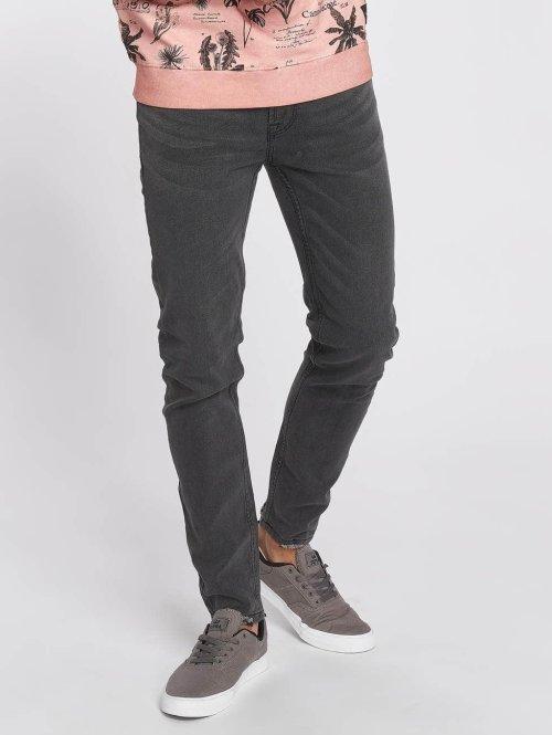 Only & Sons Skinny jeans onsWarp Raw Hem grijs