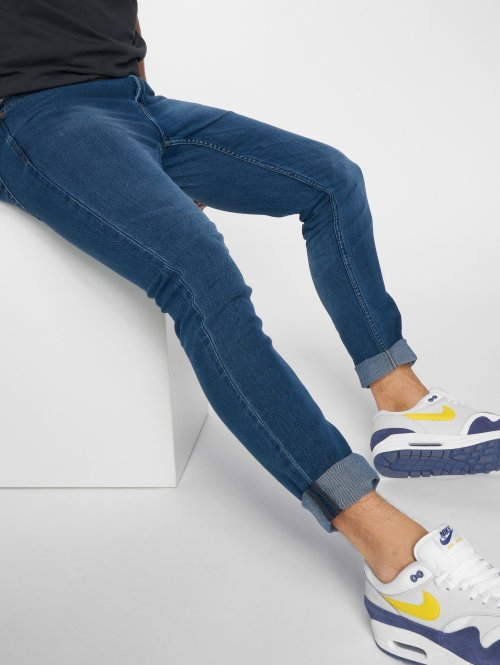 Only & Sons Slim Fit Jeans Onsspun modrá