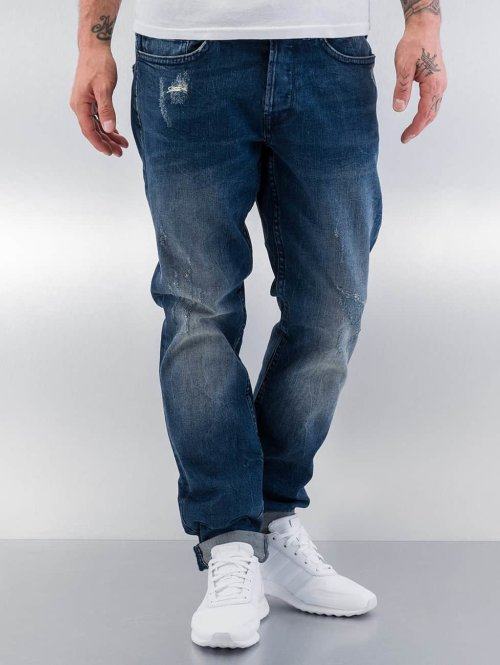 Only & Sons Straight Fit Jeans onsWeft blau