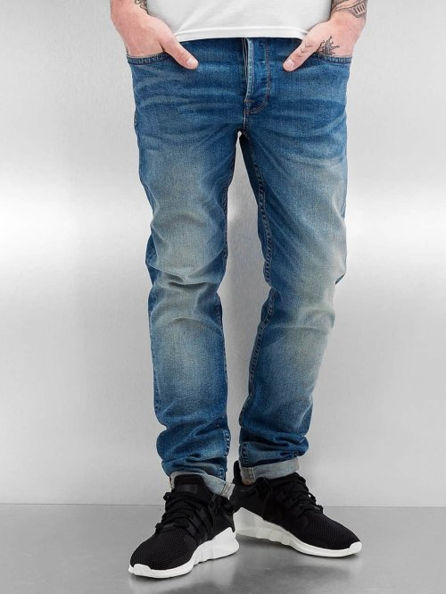 Only & Sons Straight fit jeans 22005078 blauw