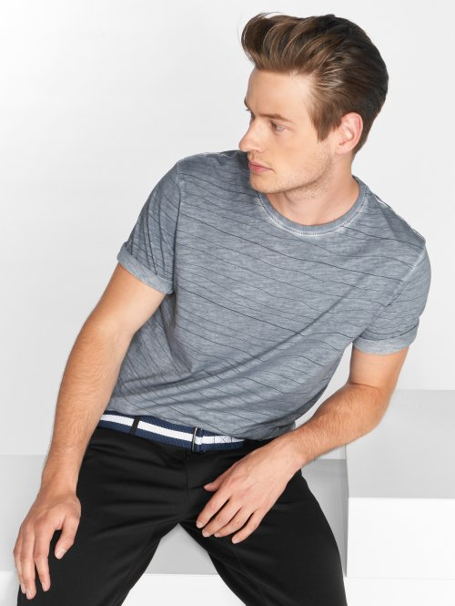 Only & Sons T-shirt onlsNelson Striped blå