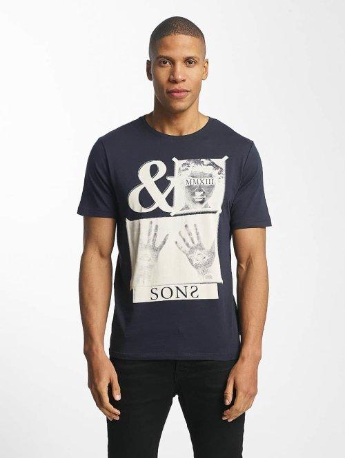 Only & Sons T-Shirt onsMalone bleu