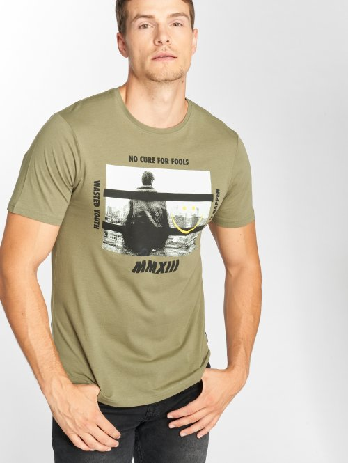 Only & Sons T-shirt onsGabriel grön