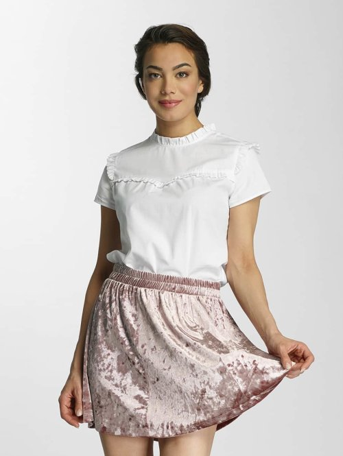 Only Blouse & Chemise onlOzzy Small Frill blanc