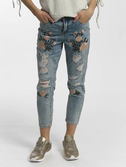 Only Boyfriend jeans Tonni blauw