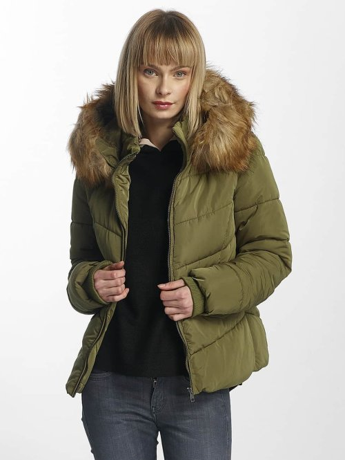 Only Puffer Jacket onlSanna olive