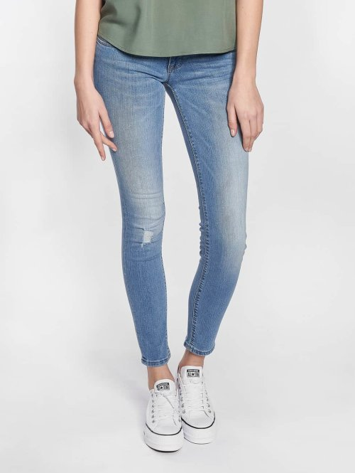 Only Skinny Jeans onlCoral Superlow blau