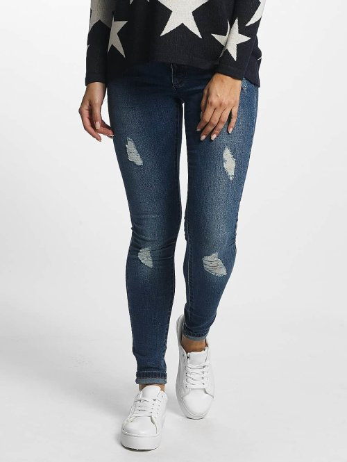 Only Skinny jeans onlCoral blauw